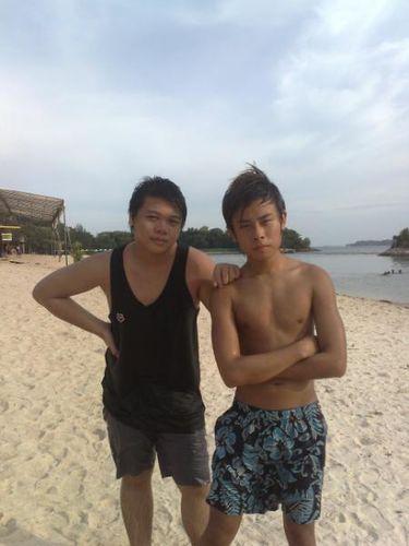 Ivan bro and me.